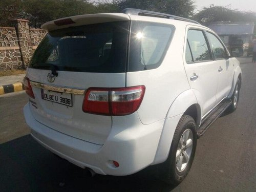 Used Toyota Fortuner 2010 MT for sale in New Delhi