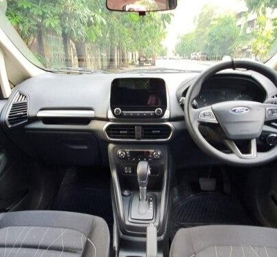 Used 2018 EcoSport 1.5 Petrol Trend Plus AT  for sale in Mumbai