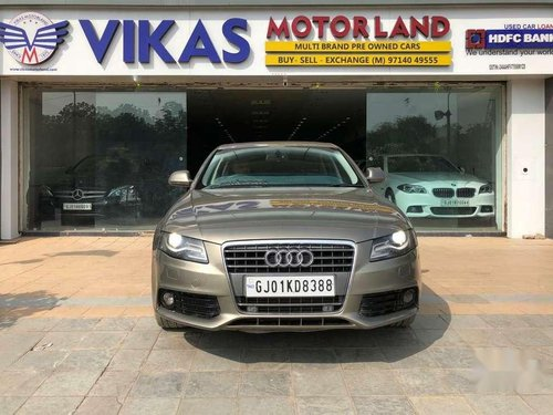 Used Audi A4 2.0 TDI 2009 AT for sale in Ahmedabad
