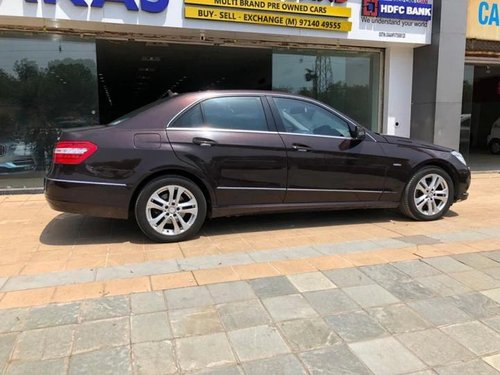 2012 Mercedes-Benz E-Class Elegance 220 CDI AT for sale in Ahmedabad