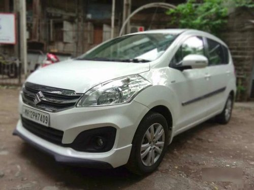 Maruti Suzuki Ertiga VXI CNG 2017 MT for sale in Pune