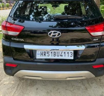 Used 2018 Hyundai Creta 1.6 SX Automatic Diesel AT for sale in Faridabad