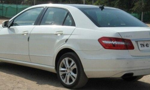 Used 2012 Mercedes Benz E Class AT for sale in Coimbatore