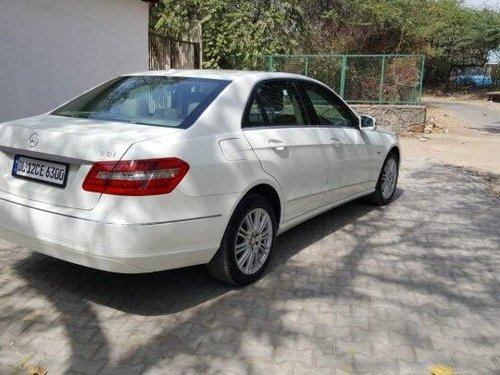 Used 2011 Mercedes Benz E Class AT for sale in New Delhi