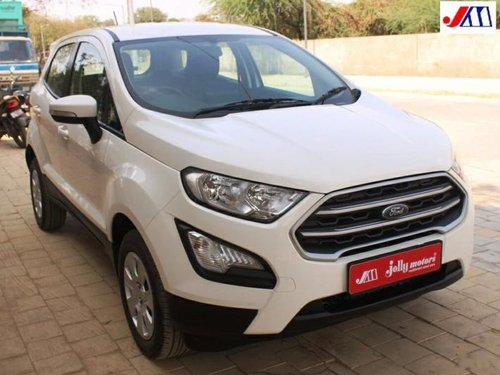 Used Ford EcoSport 2018 MT for sale in Ahmedabad