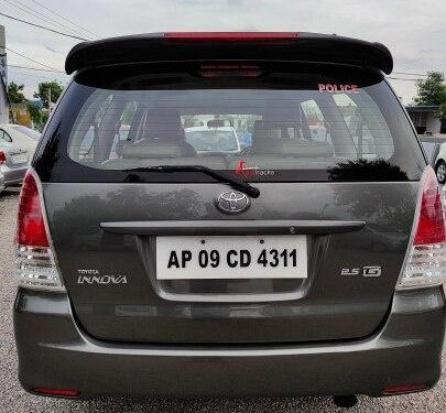 Used Toyota Innova 2011 MT for sale in Hyderabad