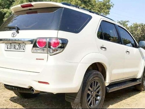 Used Toyota Fortuner 2015 AT for sale in Ahmedabad