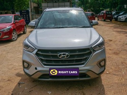Used Hyundai Creta 2018 MT for sale in Hyderabad