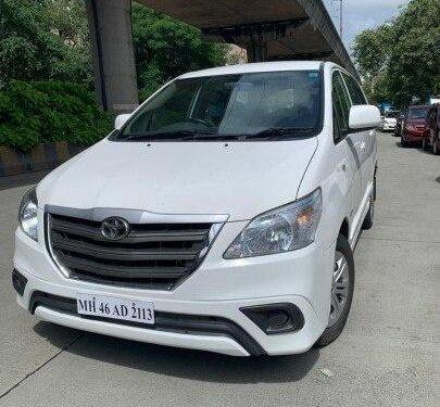 Used 2016 Toyota Innova MT for sale in Mumbai