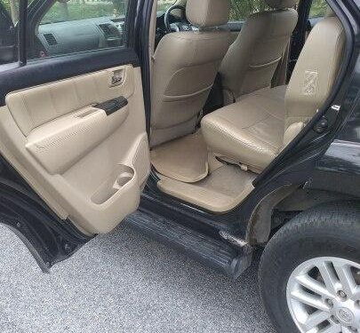 2014 Toyota Fortuner 4x4 MT for sale in Hyderabad