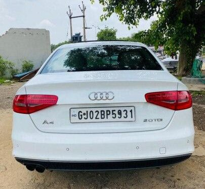 2014 Audi A4 2.0 TDI Multitronic AT for sale in Ahmedabad