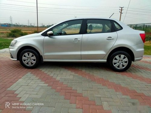 2017 Volkswagen Ameo 1.2 MPI Trendline MT for sale in Faridabad