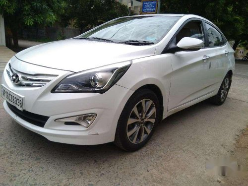 Used Hyundai Verna 1.6 CRDI 2015 MT for sale in Ongole-8