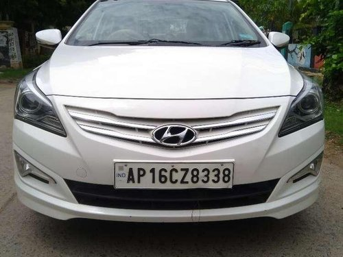 Used Hyundai Verna 1.6 CRDI 2015 MT for sale in Ongole-9