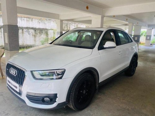 2015 Audi Q3 35 TDI Quattro Premium Plus AT in Hyderabad
