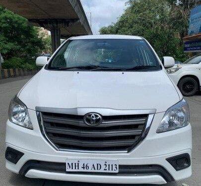 2016 Toyota Innova 2.5 EV (Diesel) MS 7 Seater BS IV MT in Mumbai