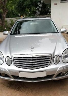 2007 Mercedes Benz E Class AT for sale in Hyderabad