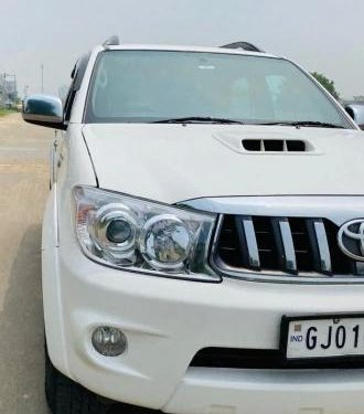 Used 2011 Toyota Fortuner 3.0 Diesel MT for sale in Ahmedabad