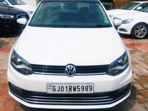 2017 Volkswagen Ameo 1.2 MPI Comfortline MT for sale in Ahmedabad