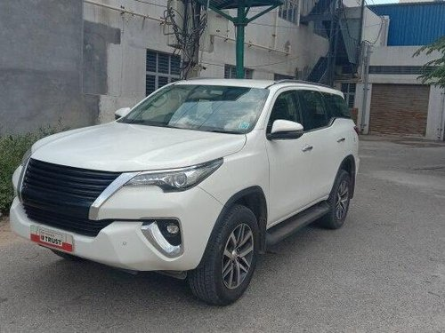 2018 Toyota Fortuner 2.8 4WD MT in Bangalore