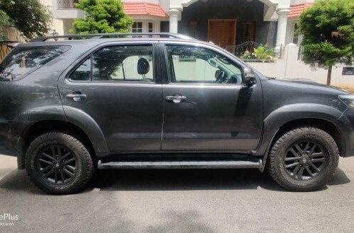 2015 Toyota Fortuner 4x4 AT for sale in Bangalore
