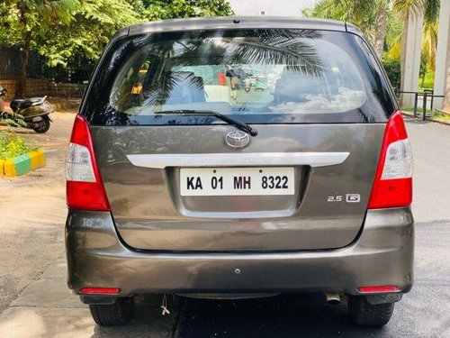 Toyota Innova 2.5 G (Diesel) 7 Seater BS IV 2012 MT for sale in Bangalore