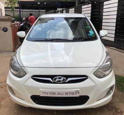 Hyundai Verna 2012 MT for sale in Chennai