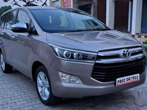 Used 2018 Toyota Innova Crysta MT for sale in Jalandhar