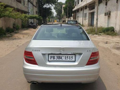 Used Mercedes Benz C-Class 220 2014 AT for sale in Ludhiana