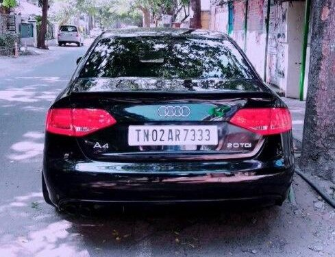 Audi A4 2.0 TDI Multitronic 2010 AT for sale in Chennai