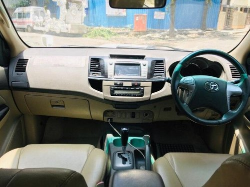 2012 Toyota Fortuner 4x2 AT for sale in Mumbai