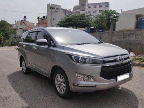 2018 Toyota Innova Crysta 2.4 VX MT BSIV in Bangalore