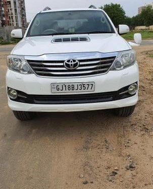 2012 Toyota Fortuner 4x4 MT for sale in Ahmedabad