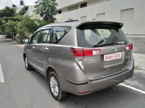 2016 Toyota Innova Crysta 2.4 VX MT for sale in Bangalore