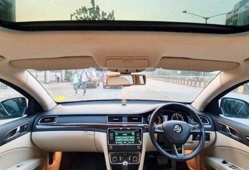 2015 Skoda Superb Elegance 2.0 TDI CR AT in Mumbai