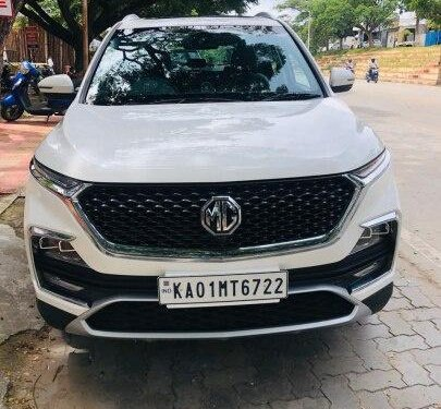 Used MG Hector 2019 MT for sale in Bangalore
