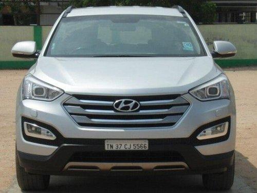 Used Hyundai Santa Fe 2014 AT for sale in Coimbatore