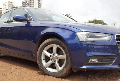 Audi A4 2.0 TDI Multitronic 2014 AT for sale in Mumbai -4