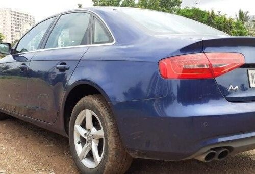 Audi A4 2.0 TDI Multitronic 2014 AT for sale in Mumbai -8