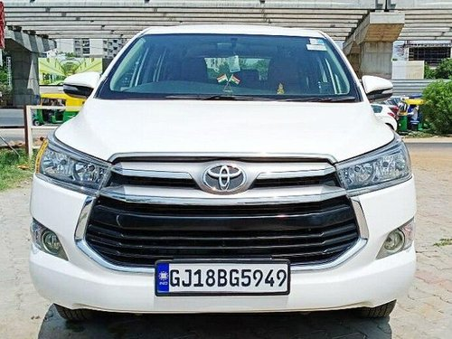 Used 2017 Toyota Innova Crysta 2.4 G MT for sale in Ahmedabad