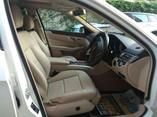 Used 2016 Mercedes Benz E Class AT for sale in Chennai
