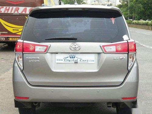 Toyota INNOVA CRYSTA 2.4 V, 2017, AT for sale in Mumbai