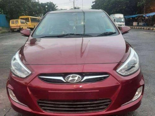 Used Hyundai Verna CRDI 2015 MT for sale in Thane -8