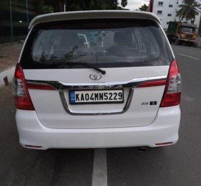 Toyota Innova 2.5 ZX Diesel 7 Seater BSIII 2014 MT in Bangalore