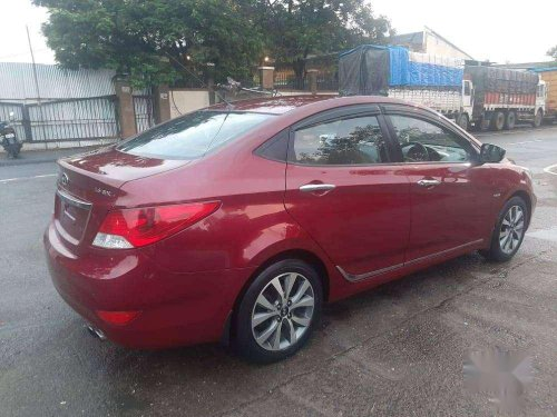 Used Hyundai Verna CRDI 2015 MT for sale in Thane