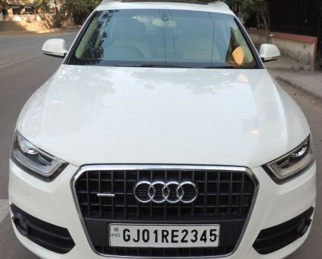 2013 Audi Q3 for sale in Ahmedabad