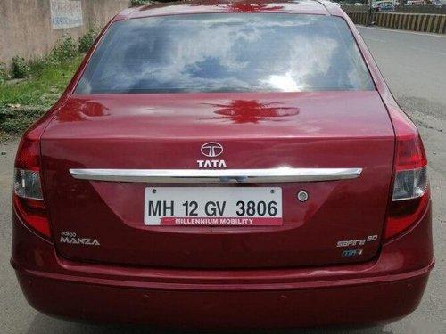 Tata Manza Aqua Safire 2011 MT for sale in Pune