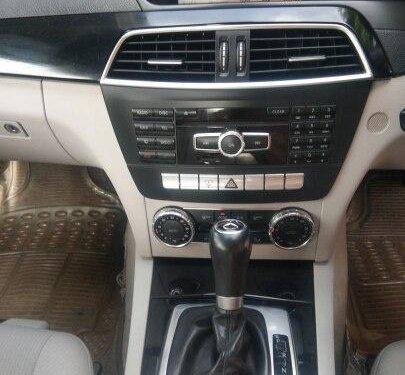 2012 Mercedes Benz C-Class C 220 CDI BE Avantgare AT in Mumbai