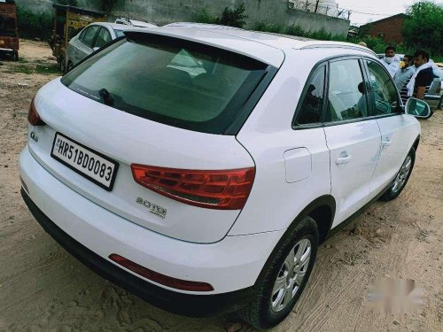 Audi Q3 35 TDI Premium + Sunroof, 2015 AT for sale in Gurgaon
