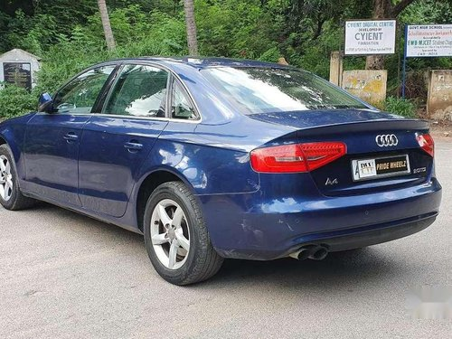 Used Audi A4 2.0 TDI Multitronic 2014 AT for sale in Hyderabad